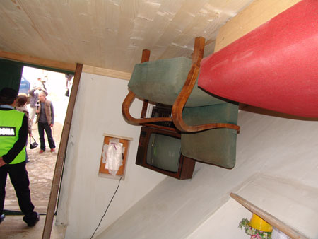 Casa sottosopra in Polonia