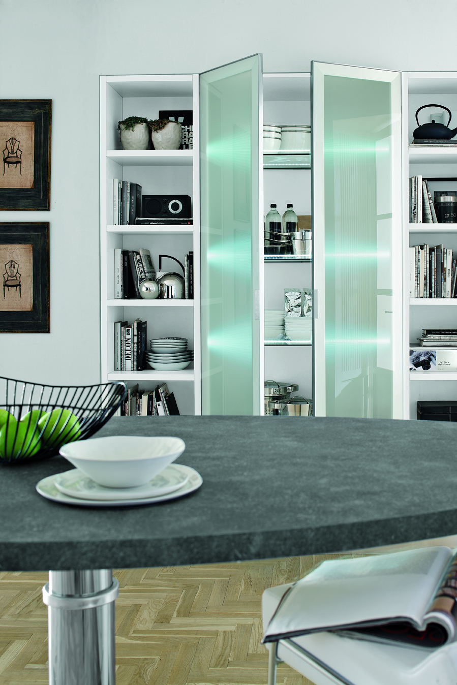 Cucina moderna Kristal by Gicinque