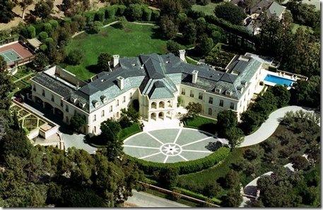 Case di lusso dei vip di Hollywood