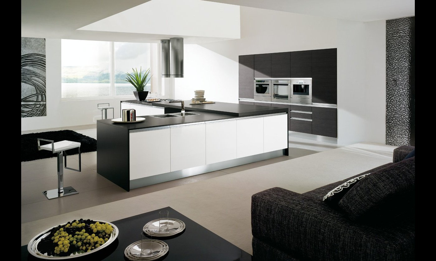 Cucina moderna Sting by Gicinque