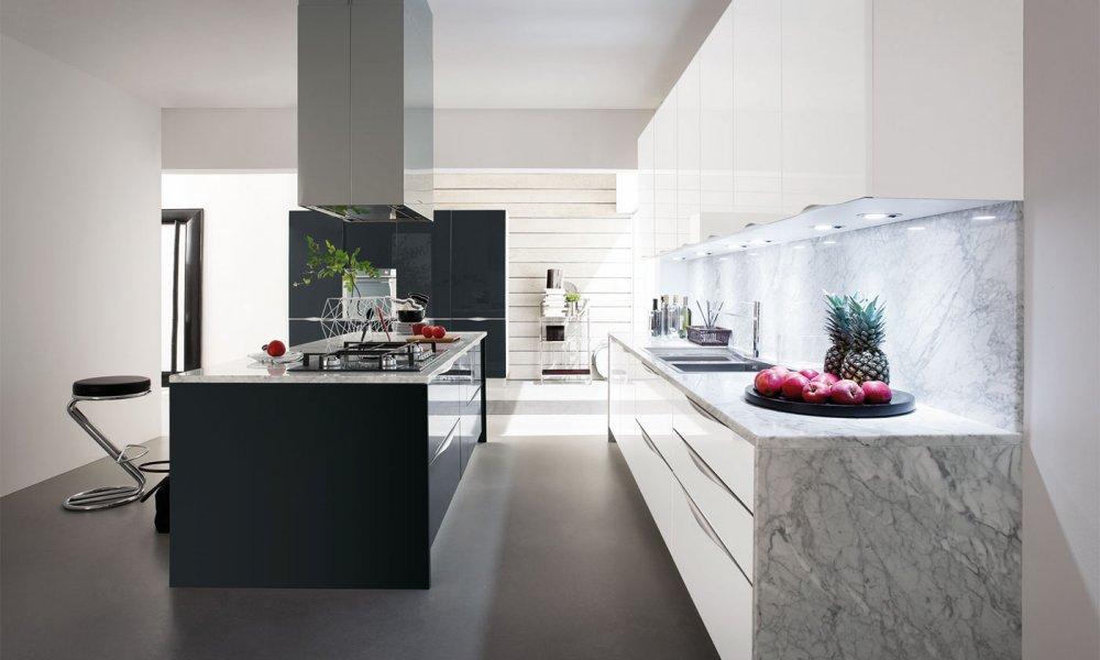 Cucina moderna Onda by Gicinque