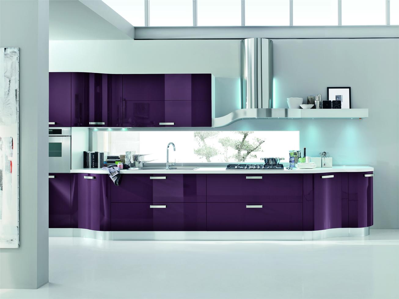 Foto cucina moderna kristal by gicinque arredamento for Arredamento cucina moderna foto