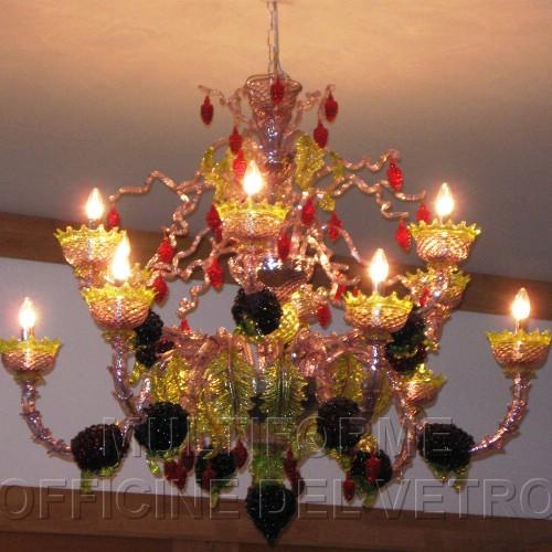 Multiforme officine del vetro illuminazione lampadari for Forum arredamento galleria fotografica