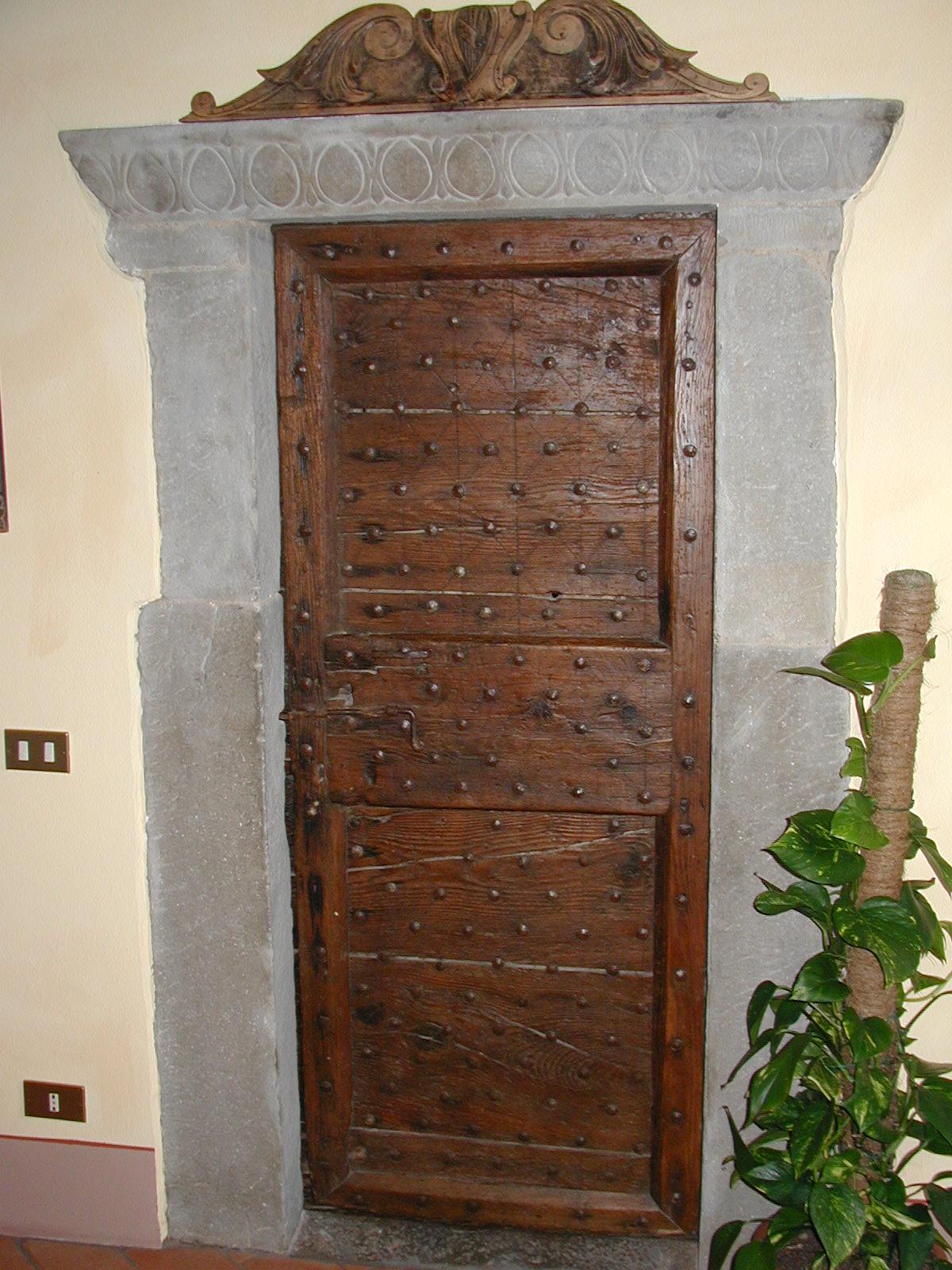 Porte antiche vendita for Porte decorate antiche